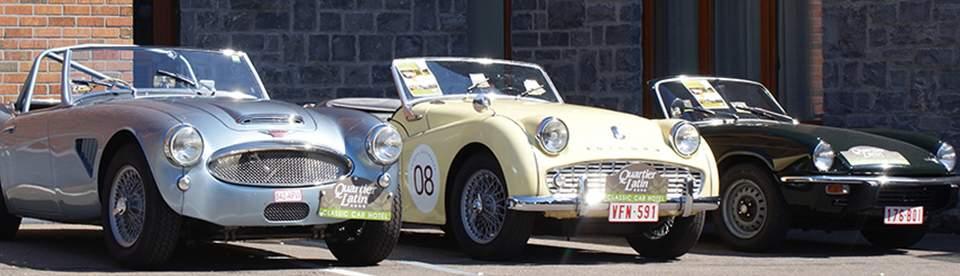 Circuits touristiques en voiture ancienne dans les régions des Ardennes, Famenne et Condroz