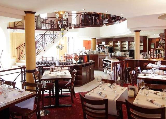 Brasserie restaurant de l'hôtel Quartier Latin